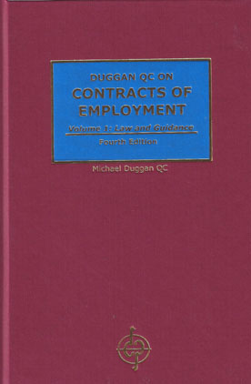 Contracts of Employment: Law and Guidance and Precedents