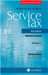Professional's Guide to Service Tax - As amended by the Finance Act, 2017 (Set of 2 Volumes)
