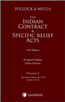 The Indian Contract and Specific Relief Acts (Set of 2 Volumes)