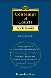 Contempt of Courts Law & Practice