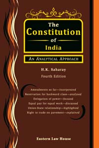 The Constitution of India An Analytical Approach