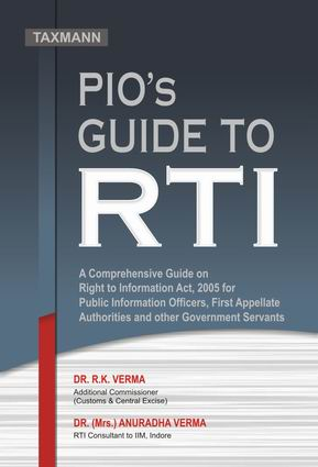 PIOs Guide to RTI