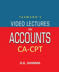 CA-CPT - Video Lectures on  Accounts
