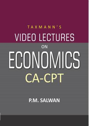 CA-CPT - Video Lectures on Economics
