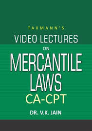 CA-CPT - Video Lectures on Mercantile Laws