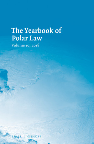 The Yearbook of Polar Law Volume 10, 2018