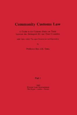 Community Customs Law  A Guide