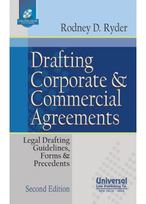 Drafting Corporate and Commercial Agreements (Legal Drafting, Guidelines, Form & Precedents) (With Free CD)