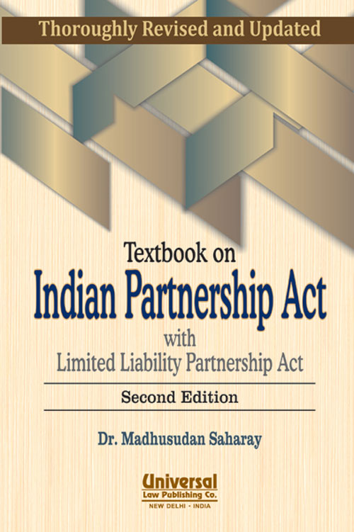Textbook on Indian Partnership Act with Limited Liability Partnership Act