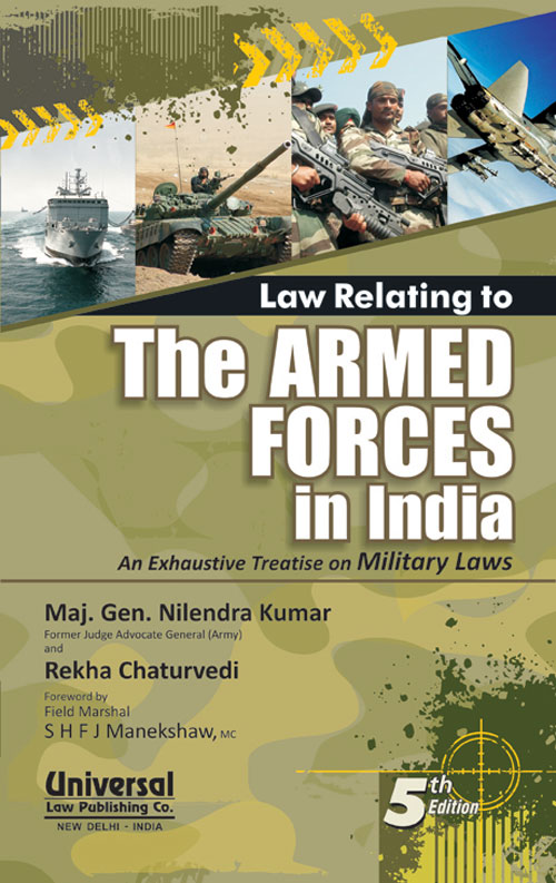Law Relating to the Armed Forces in India
