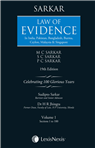 Law of Evidence-In India, Pakistan, Bangladesh, Burma, Ceylon, Malaysia & Singapore in 2 vols.