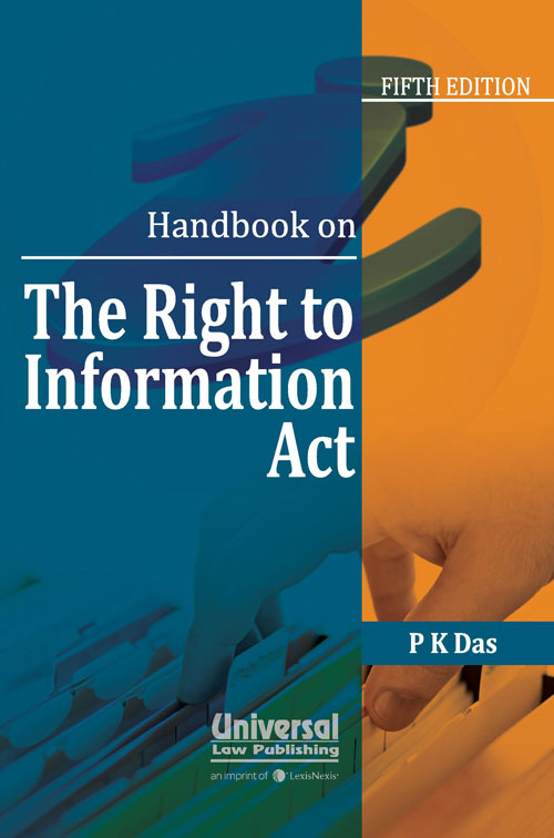 Handbook on The Right to Information Act