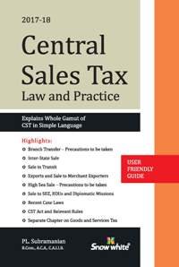 CENTRAL SALES TAX ( Law and Practice)