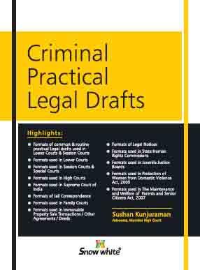 Criminal Practical Legal Drafts