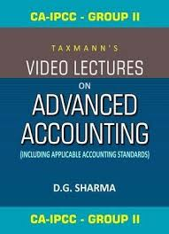 CA-IPCC (Group II) Video Lectures on  Advanced  Accounting
