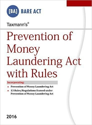 Prevention of Money Laundering Act with Rules