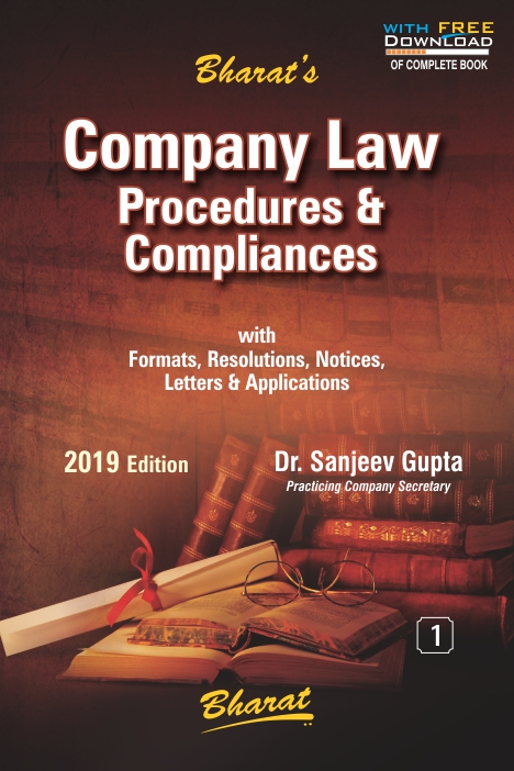 Company Law Procedures & Compliances (Set of 2 Vols.)