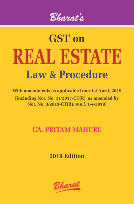 GST on Real Estate Law & Procedure