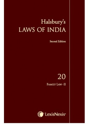 Halsbury's Laws of India-Family Law II; Vol 20