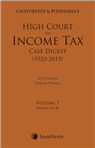 Chaturvedi and Pithisaria's High Court on Income Tax Case Digest (1922-2015) (Set of 4 Vols)