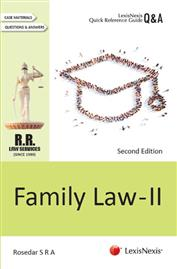 LexisNexis Quick Reference Guide-Q&A Series - Family Law II