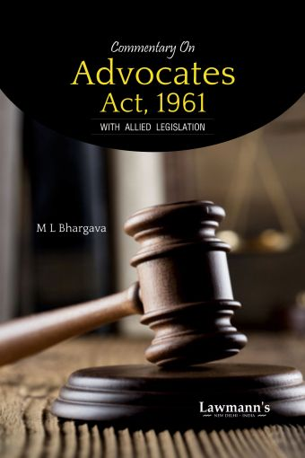Commentary on Advocates Act, 1961
