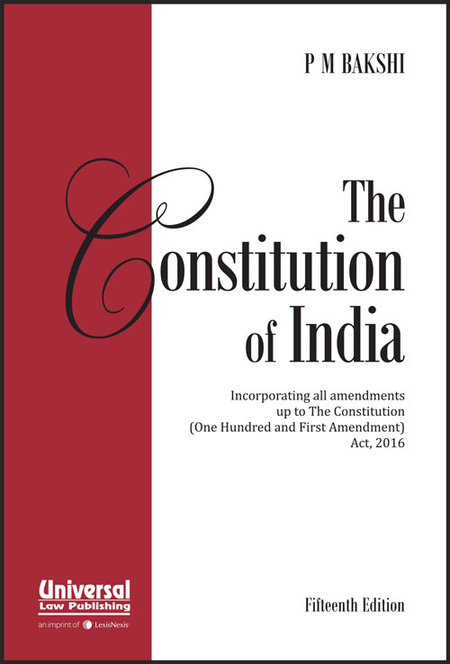 Constitution of India (Pocket Edition)