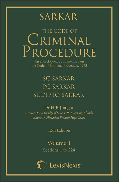 The Code of Criminal Procedure - An Encyclopaedic Commentary on the Code of Criminal Procedure, 1973 (Set of 2 Volumes)