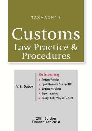 Customs Law Practice & ProceduresFinance Act 2018