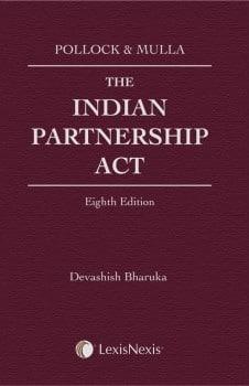 Pollock and Mulla: Mulla The Indian Partnership Act