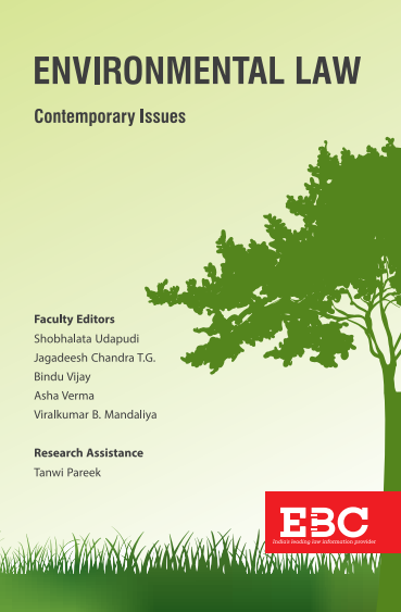 Environmental Law: Contemporary Issues