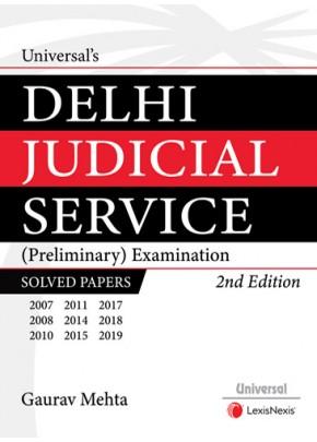 Delhi Judicial Service (Preliminary) Examination Solved Papers