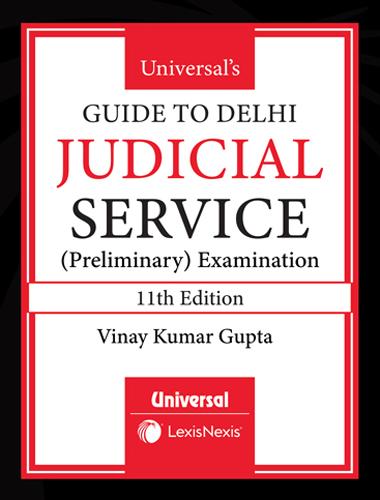 Guide to Delhi Judicial Service (Preliminary Examination)