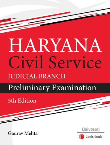 Haryana Civil Service (Judicial Branch) Preliminary Examination