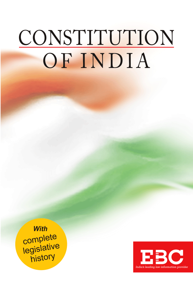 Constitution of IndiaBare Act (Print/eBook)