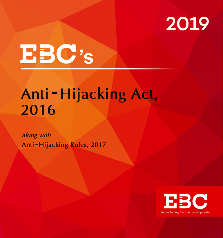 Anti-Hijacking Act, 2016