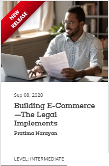 EBC Learning Course - Building E-Commerce-The Legal Implements