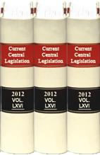 Current Central Legislation (Back Volumes)- CCL Bound Volumes