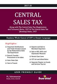 CENTRAL SALES TAX LAW & PRACTICE WITH BOMBAY RULES
