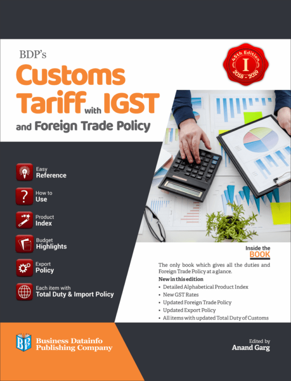 Customs Tariff with IGST and Foreign Trade Policy