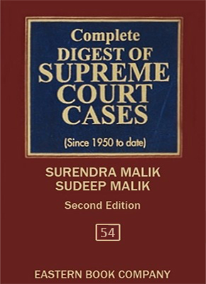 Complete Digest of Supreme Court Cases, Vol 54