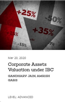 EBC Learning Course - Corporate Assets Valuation under IBC
