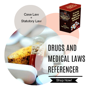 Drugs and Medical law Referencer