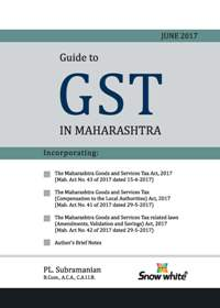 GUIDE TO G S T IN MAHARASHTRA