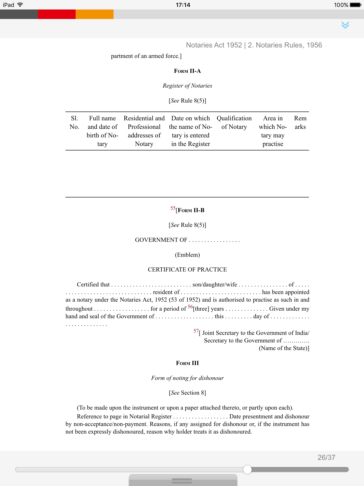 Notaries Act 1952 Download