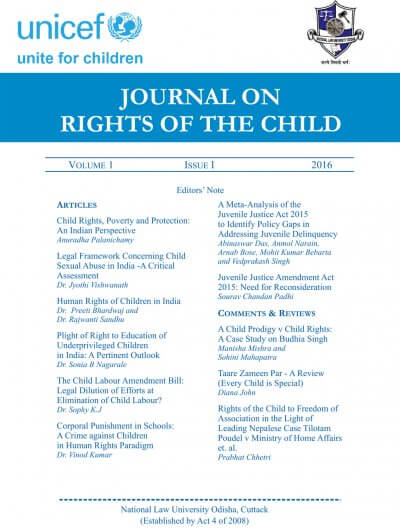Journal on Rights of the Child