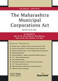 THE MAHARASHTRA MUNICIPAL CORPORATIONS ACT ( P / B )