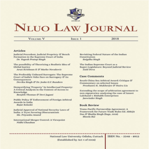 NLUO Law Journal