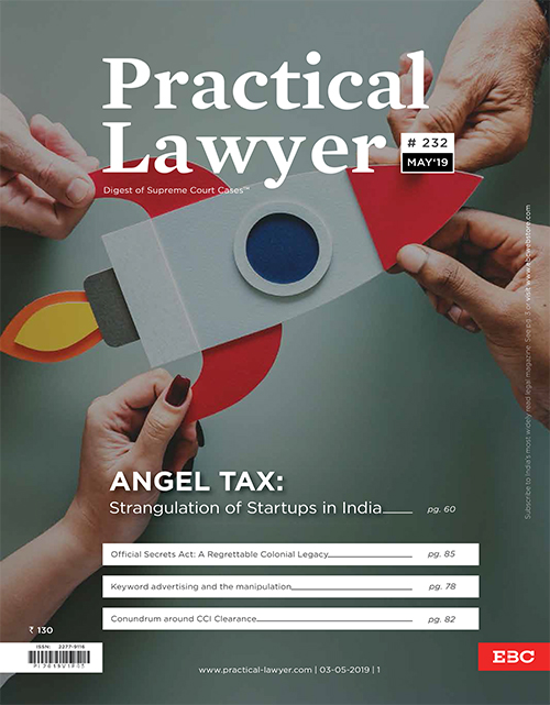 Practical Lawyer Angel Tax Strangulation of Startups in India
