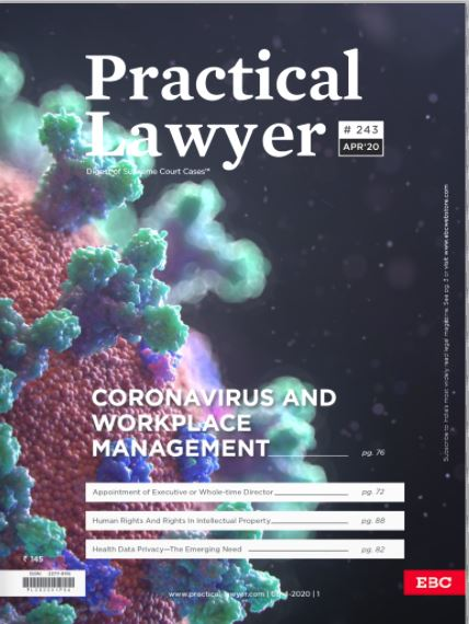 Practical Lawyer - Coronavirus and Workplace Management